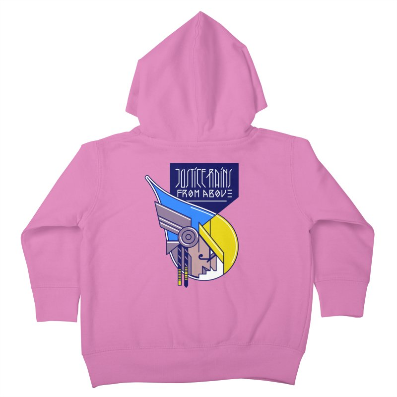 Justice Rains From Above Kids Toddler Zip-Up Hoody by Spencer Fruhling's Artist Shop