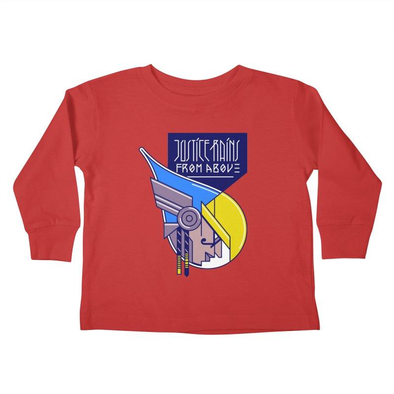 Justice Rains From Above Kids Toddler Longsleeve T-Shirt by Spencer Fruhling's Artist Shop