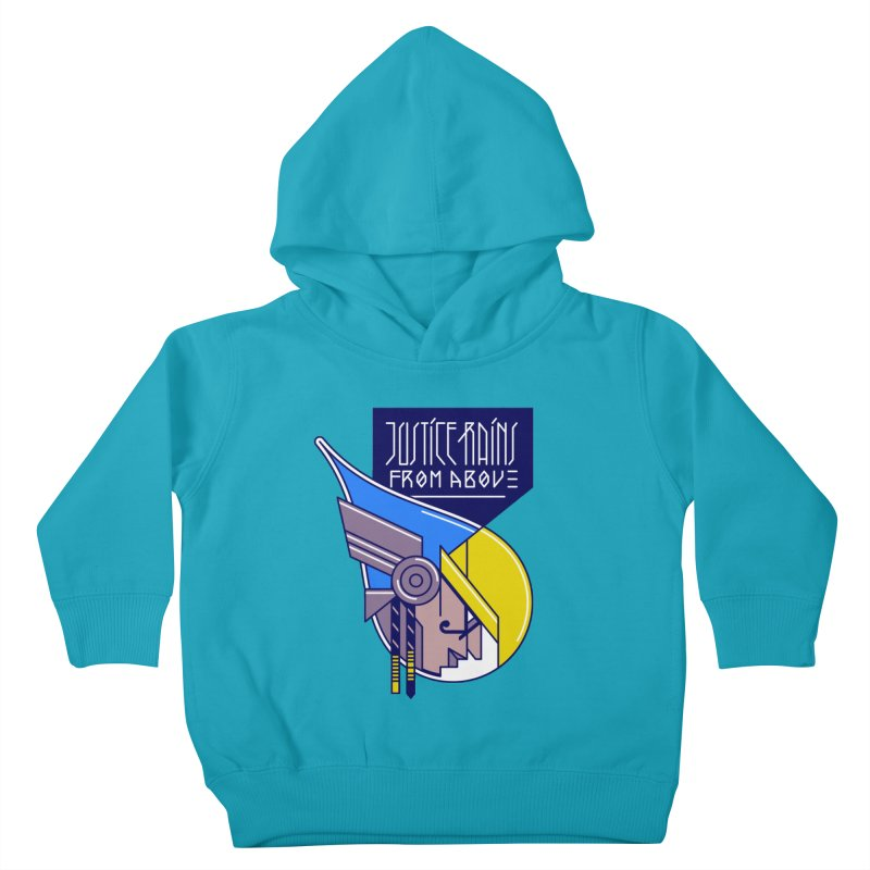 Justice Rains From Above Kids Toddler Pullover Hoody by Spencer Fruhling's Artist Shop