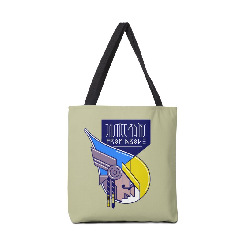 Justice Rains From Above Accessories Bag by Spencer Fruhling's Artist Shop