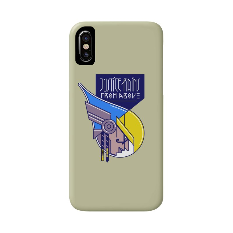 Justice Rains From Above Accessories Phone Case by Spencer Fruhling's Artist Shop