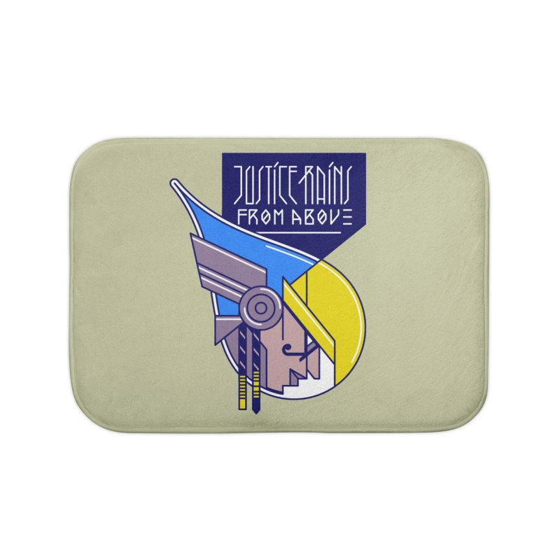 Justice Rains From Above Home Bath Mat by Spencer Fruhling's Artist Shop