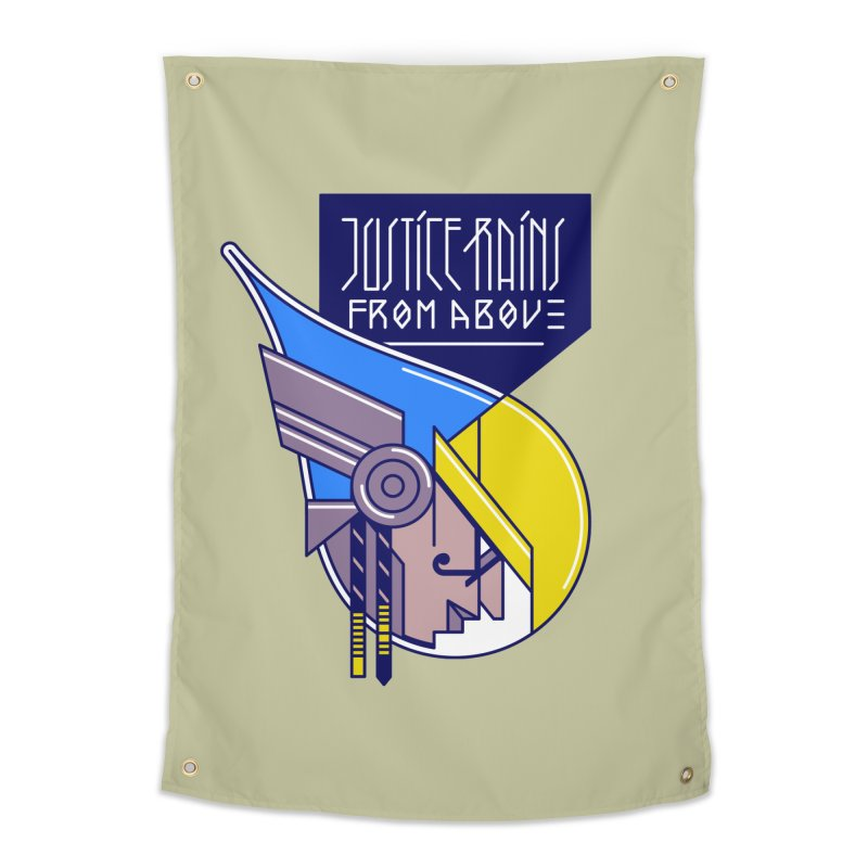Justice Rains From Above Home Tapestry by Spencer Fruhling's Artist Shop