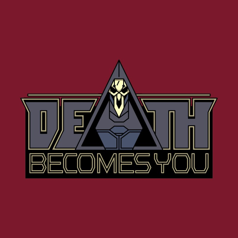 Death Becomes You Accessories Zip Pouch by Spencer Fruhling's Artist Shop