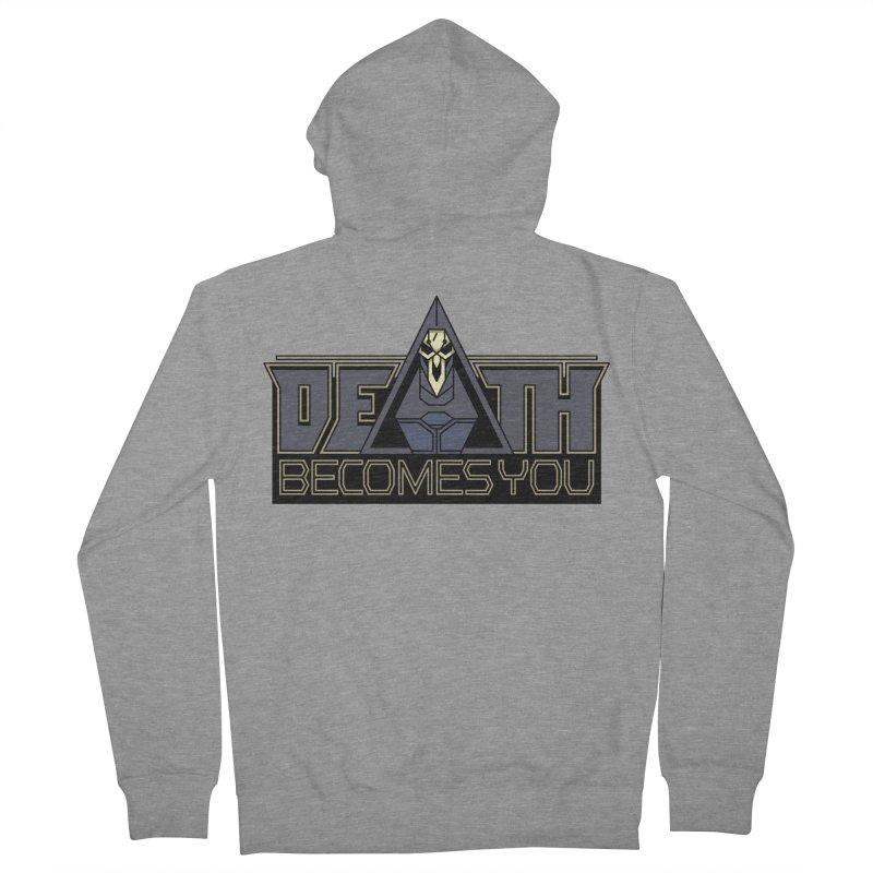 Death Becomes You Men's Zip-Up Hoody by Spencer Fruhling's Artist Shop