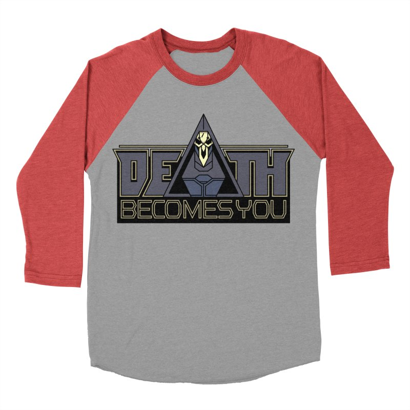 Death Becomes You Women's Baseball Triblend T-Shirt by Spencer Fruhling's Artist Shop