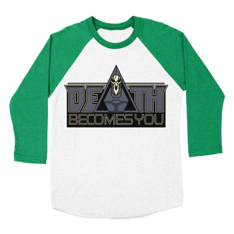 Death Becomes You Men's Baseball Triblend T-Shirt by Spencer Fruhling's Artist Shop
