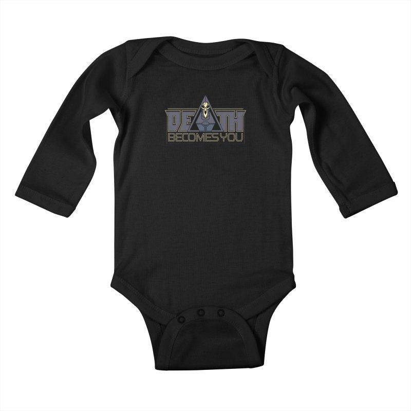 Death Becomes You Kids Baby Longsleeve Bodysuit by Spencer Fruhling's Artist Shop