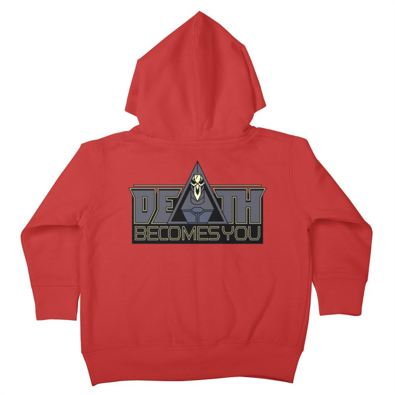 Death Becomes You Kids Toddler Zip-Up Hoody by Spencer Fruhling's Artist Shop