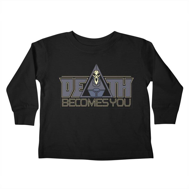 Death Becomes You Kids Toddler Longsleeve T-Shirt by Spencer Fruhling's Artist Shop