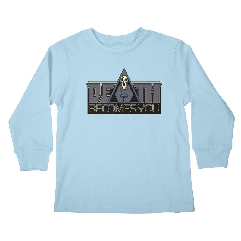 Death Becomes You Kids Longsleeve T-Shirt by Spencer Fruhling's Artist Shop