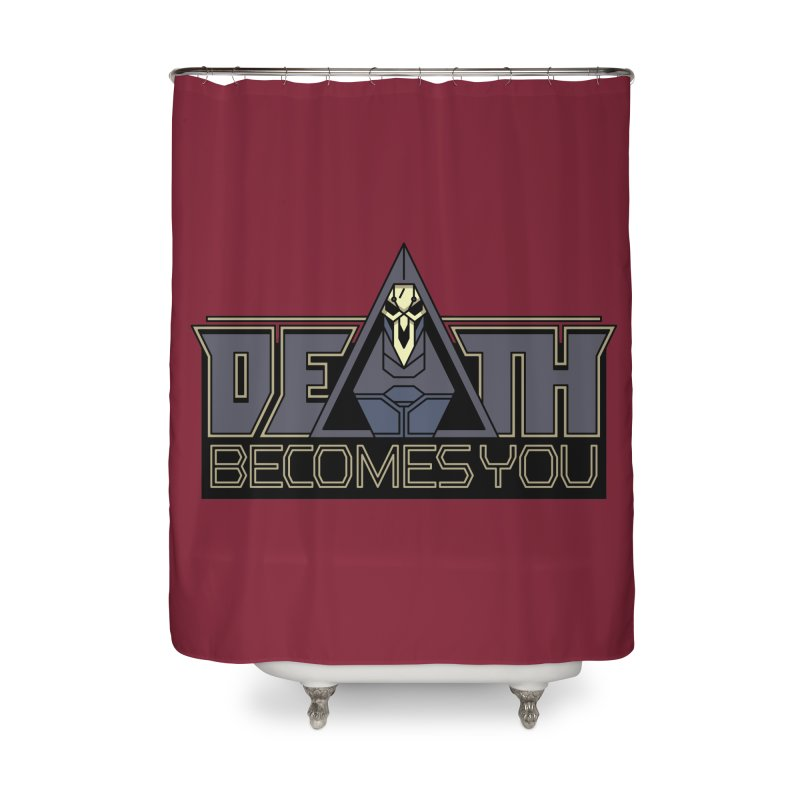 Death Becomes You Home Shower Curtain by Spencer Fruhling's Artist Shop