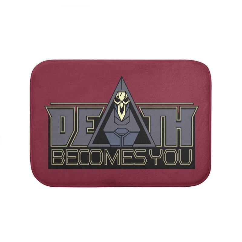 Death Becomes You Home Bath Mat by Spencer Fruhling's Artist Shop
