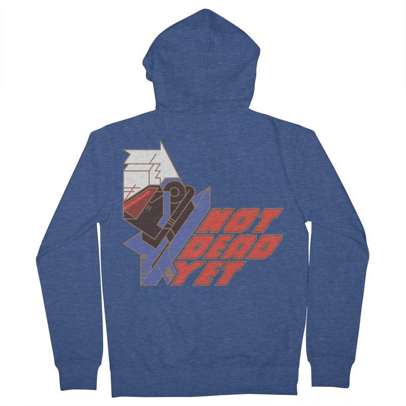 Not Dead Yet Men's Zip-Up Hoody by Spencer Fruhling's Artist Shop