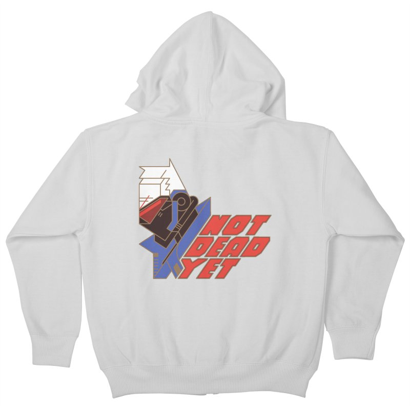 Not Dead Yet Kids Zip-Up Hoody by Spencer Fruhling's Artist Shop