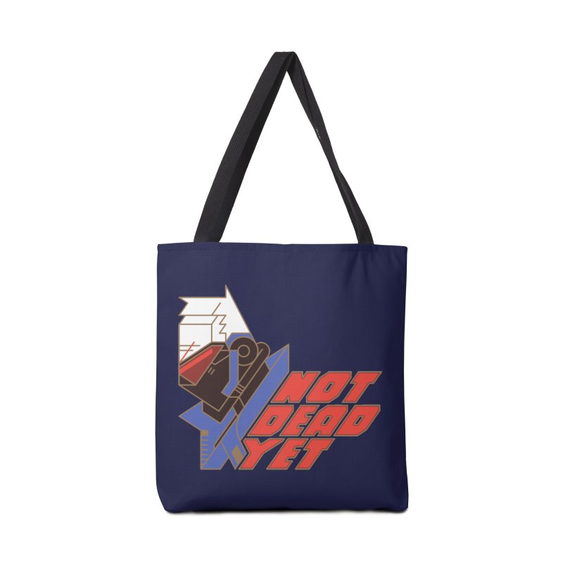 Not Dead Yet Accessories Bag by Spencer Fruhling's Artist Shop