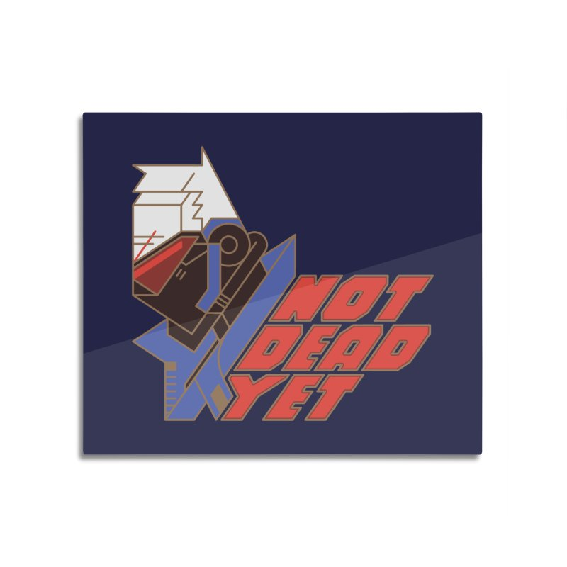 Not Dead Yet Home Mounted Aluminum Print by Spencer Fruhling's Artist Shop