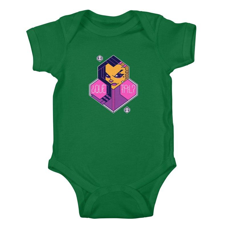 ¿Qué Tal? Kids Baby Bodysuit by Spencer Fruhling's Artist Shop