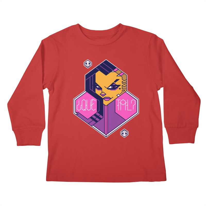 ¿Qué Tal? Kids Longsleeve T-Shirt by Spencer Fruhling's Artist Shop