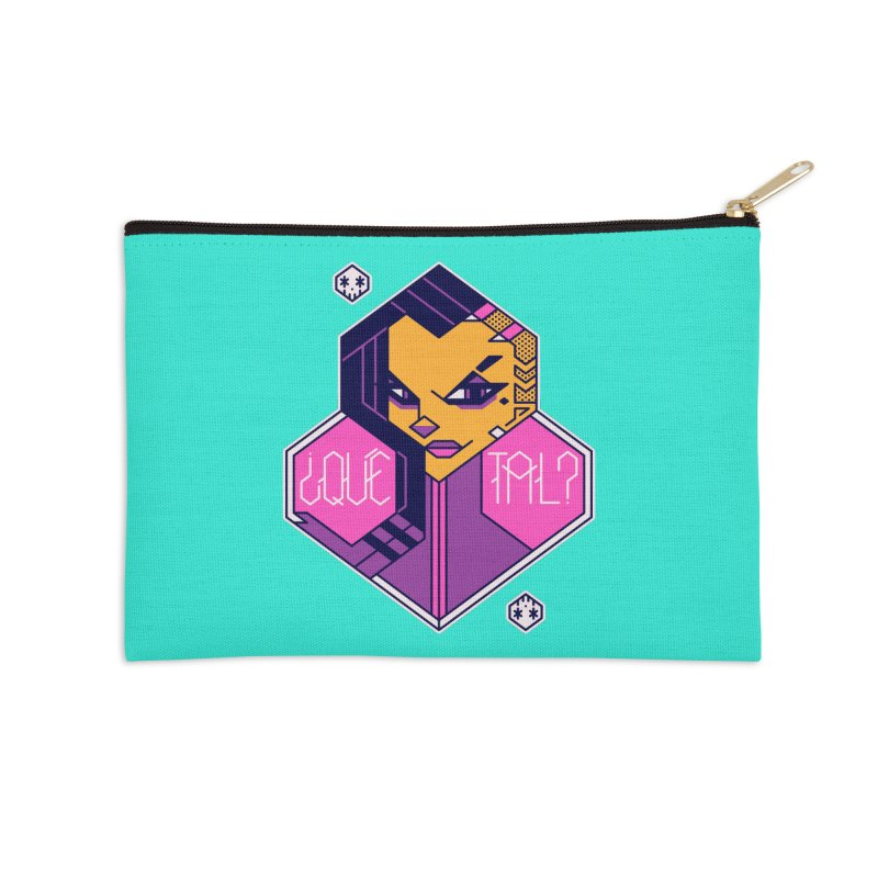¿Qué Tal? Accessories Zip Pouch by Spencer Fruhling's Artist Shop