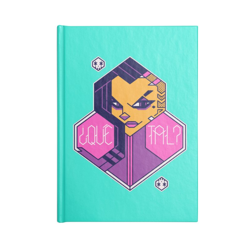 ¿Qué Tal? Accessories Notebook by Spencer Fruhling's Artist Shop