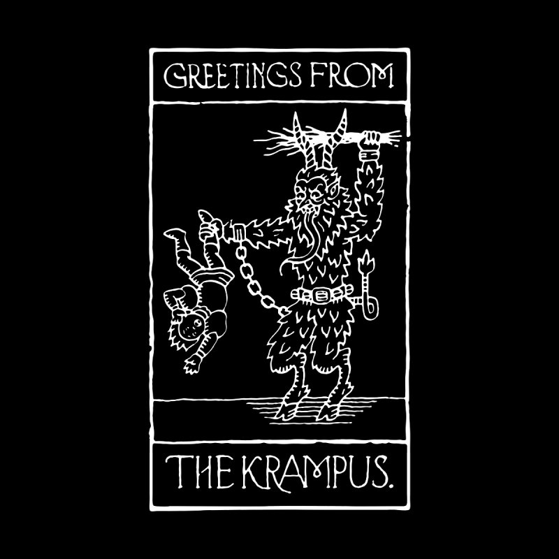 Greetings from the Krampus by Spencer Fruhling's Artist Shop