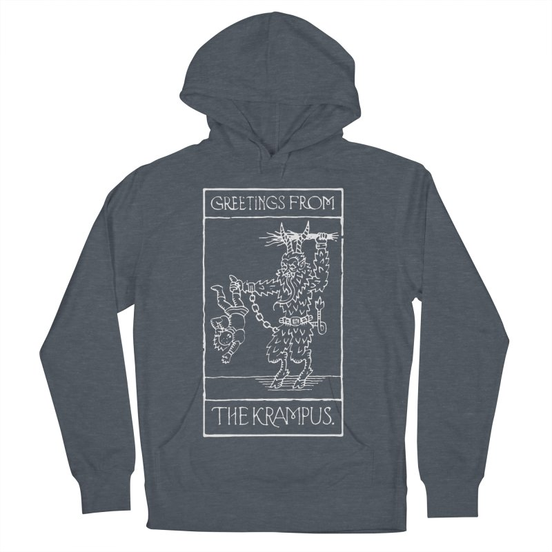 Greetings from the Krampus Men's Pullover Hoody by Spencer Fruhling's Artist Shop