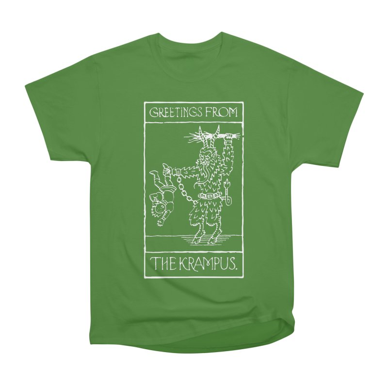 Greetings from the Krampus Men's Classic T-Shirt by Spencer Fruhling's Artist Shop