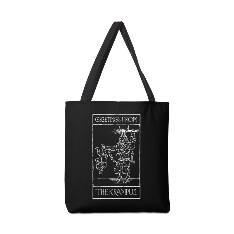 Greetings from the Krampus Accessories Bag by Spencer Fruhling's Artist Shop