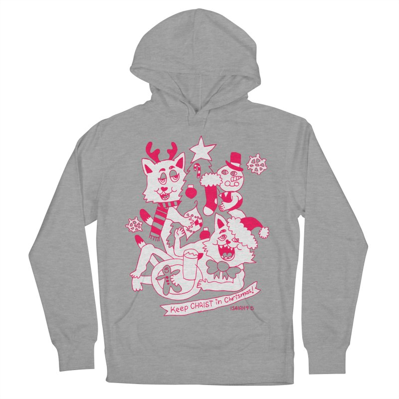Catfriend Chrismas Lovers Women's Pullover Hoody by Spencer Fruhling's Artist Shop
