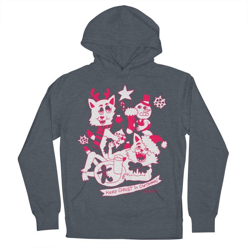 Catfriend Chrismas Lovers Men's Pullover Hoody by Spencer Fruhling's Artist Shop