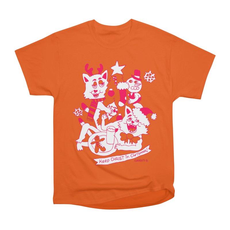 Catfriend Chrismas Lovers Men's Classic T-Shirt by Spencer Fruhling's Artist Shop