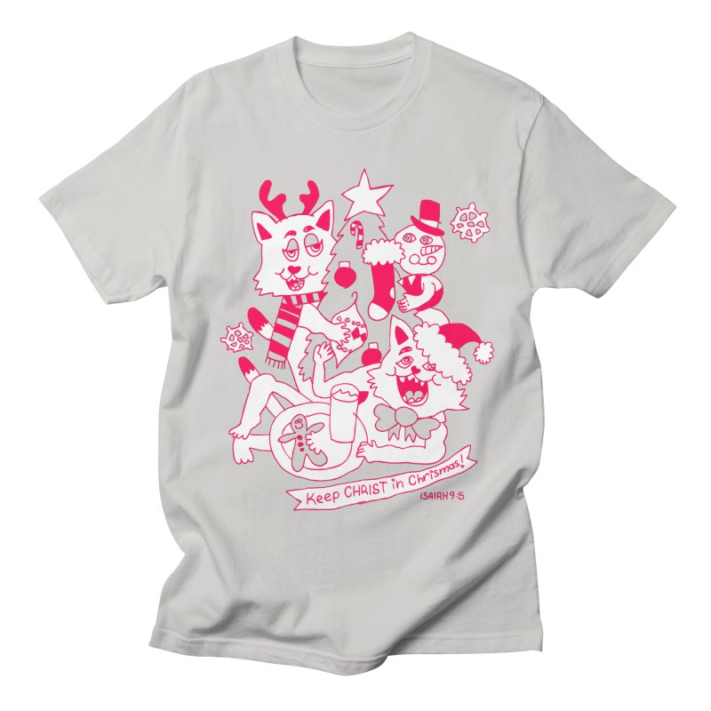 Catfriend Chrismas Lovers Women's Unisex T-Shirt by Spencer Fruhling's Artist Shop