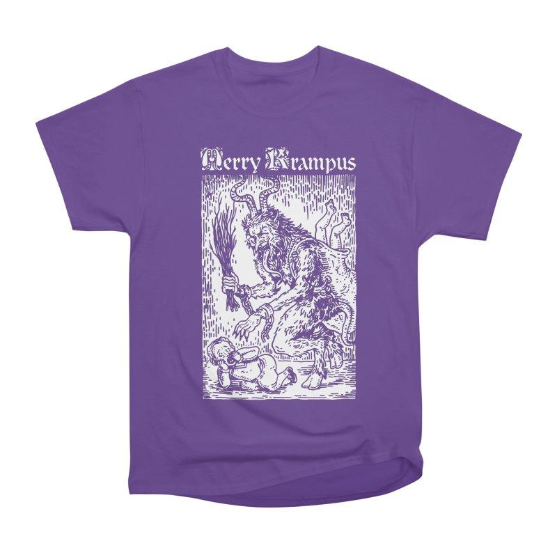 Merry Krampus Women's Classic Unisex T-Shirt by Spencer Fruhling's Artist Shop