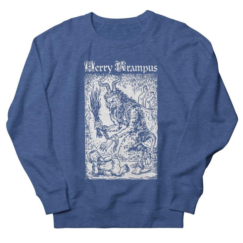Merry Krampus Men's Sweatshirt by Spencer Fruhling's Artist Shop
