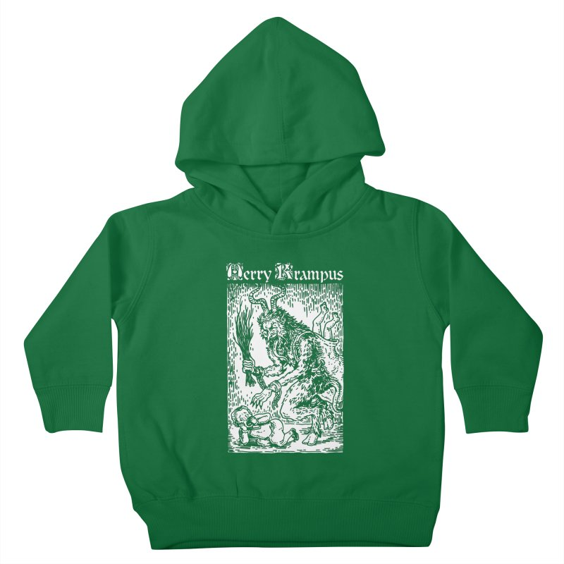 Merry Krampus Kids Toddler Pullover Hoody by Spencer Fruhling's Artist Shop
