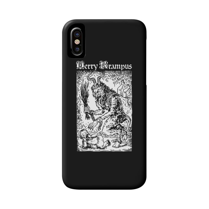 Merry Krampus Accessories Phone Case by Spencer Fruhling's Artist Shop