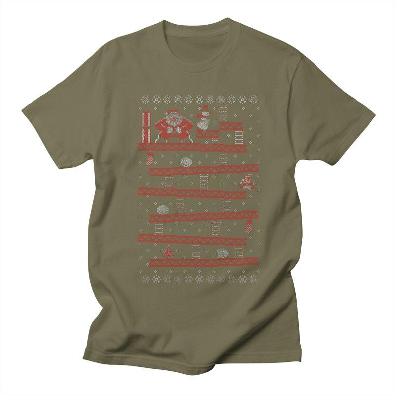 Santa Kong Women's Unisex T-Shirt by Spencer Fruhling's Artist Shop