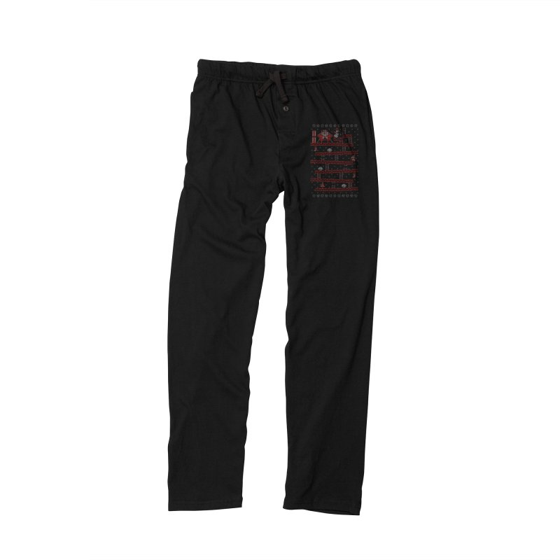 Santa Kong Men's Lounge Pants by Spencer Fruhling's Artist Shop