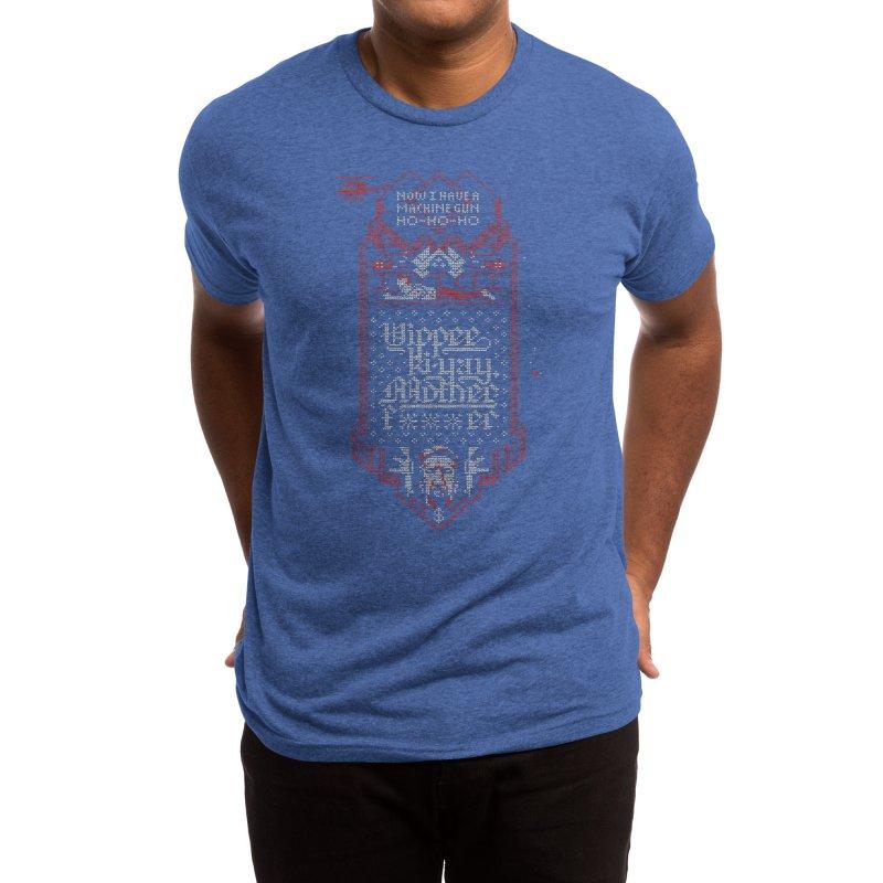 Yippee Ki-Yay Men's T-Shirt by Spencer Fruhling's Artist Shop