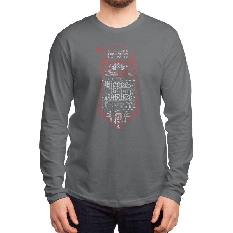 Yippee Ki-Yay Men's Longsleeve T-Shirt by Spencer Fruhling's Artist Shop