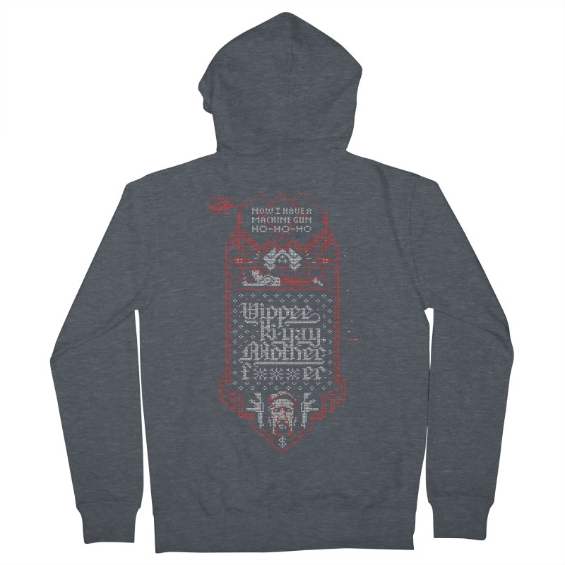Yippee Ki-Yay Women's Zip-Up Hoody by Spencer Fruhling's Artist Shop