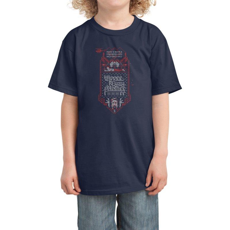 Yippee Ki-Yay Kids T-Shirt by Spencer Fruhling's Artist Shop