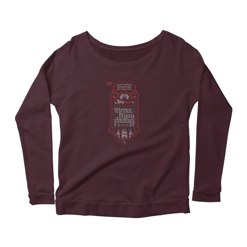 Yippee Ki-Yay Women's Longsleeve T-Shirt by Spencer Fruhling's Artist Shop
