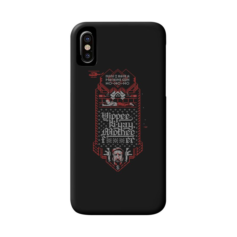 Yippee Ki-Yay Accessories Phone Case by Spencer Fruhling's Artist Shop