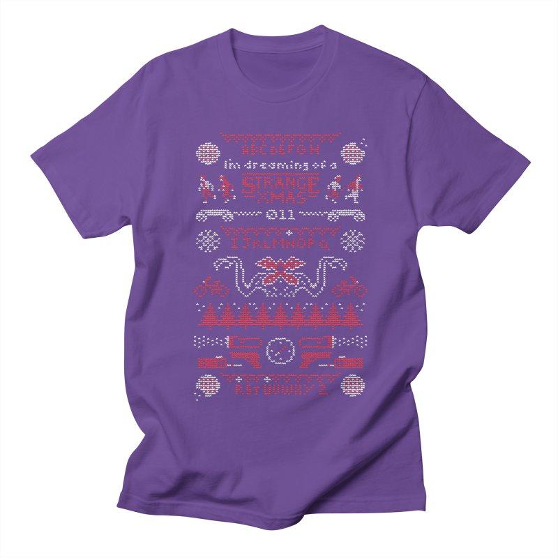 Strange Xmas Women's Regular Unisex T-Shirt by Spencer Fruhling's Artist Shop