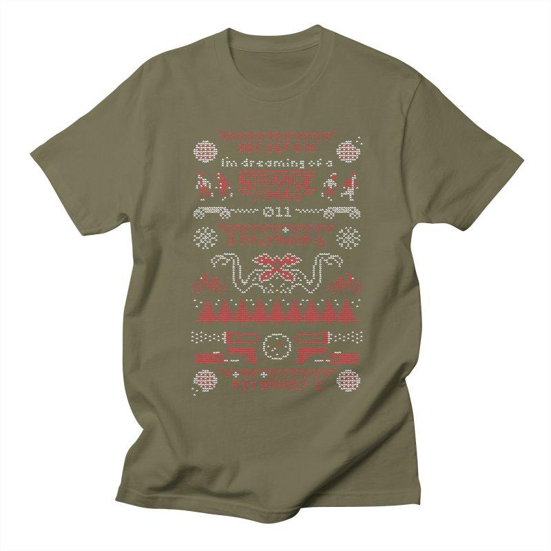 Strange Xmas Men's T-Shirt by Spencer Fruhling's Artist Shop