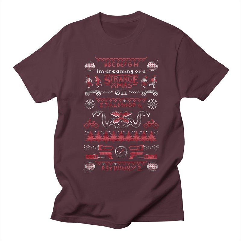 Strange Xmas Women's Unisex T-Shirt by Spencer Fruhling's Artist Shop