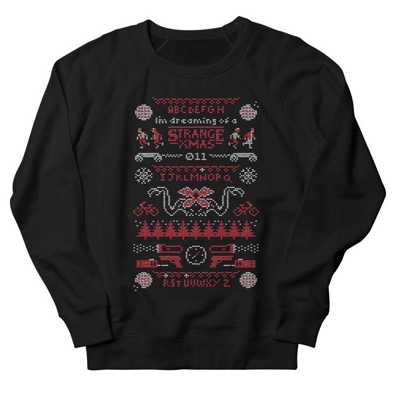 Strange Xmas Women's Sweatshirt by Spencer Fruhling's Artist Shop
