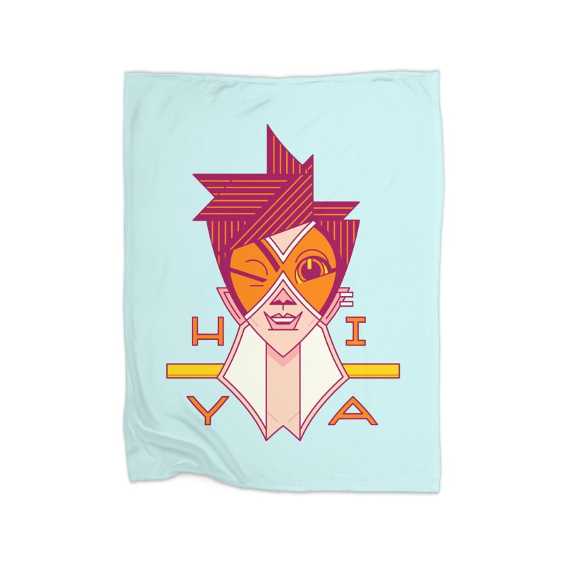 Hiya! Home Blanket by Spencer Fruhling's Artist Shop